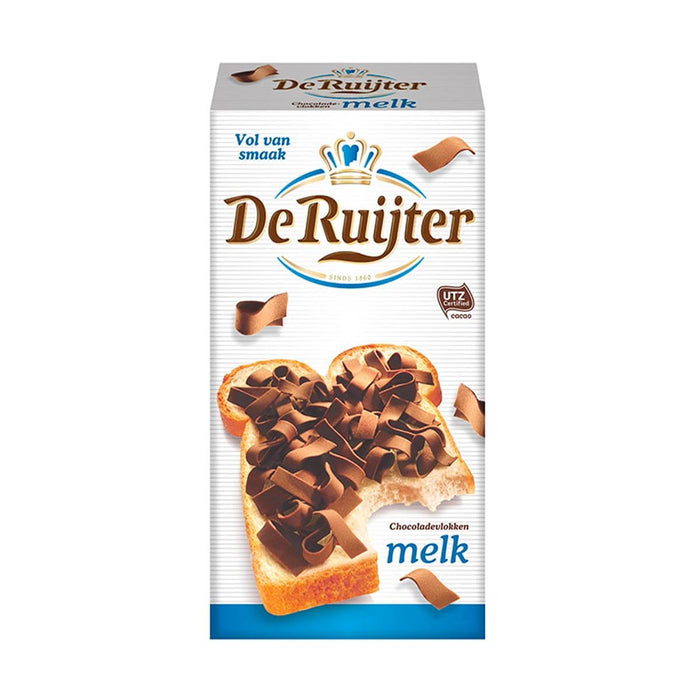 De Ruijter Milk Chocolate Flakes, 10.5 oz (298 g)