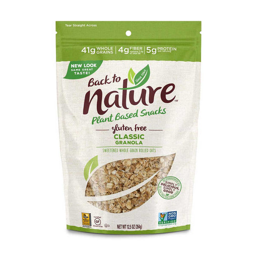 Back to Nature Gluten Free Classic Granola, 12.5 oz (354 g)