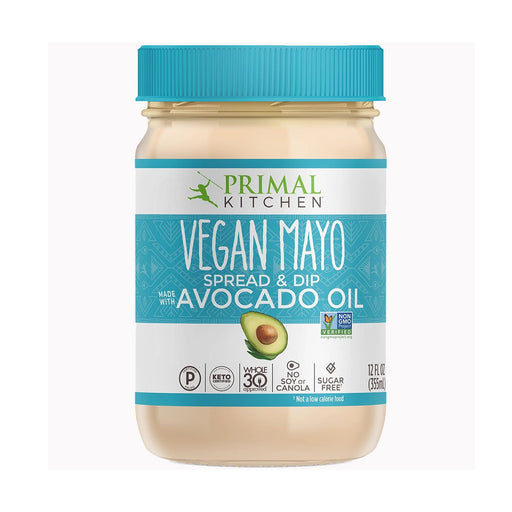 Primal Kitchen Vegan Mayo with Avocado Oil, 12 fl oz (355 ml)