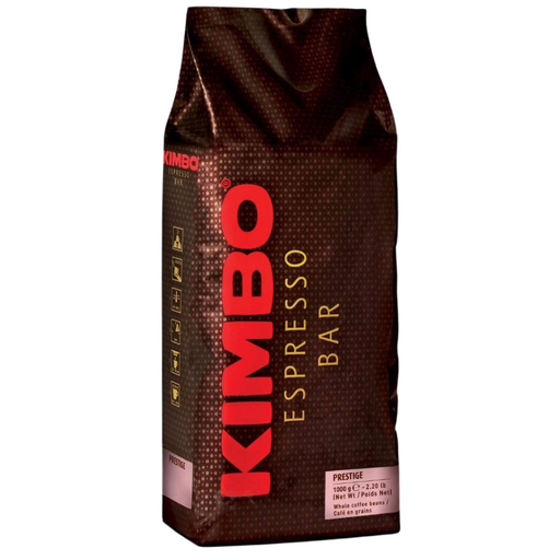 Kimbo Espresso Bar Prestige Whole Coffee Beans, 2.2 lb (1 kg)