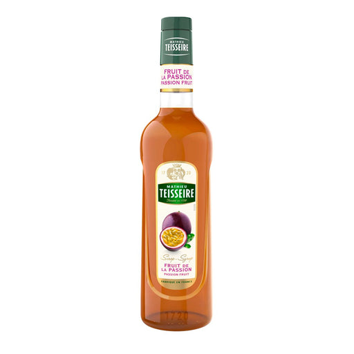 Teisseire Passion Fruit Syrup, 23.6 fl oz (700 ml)