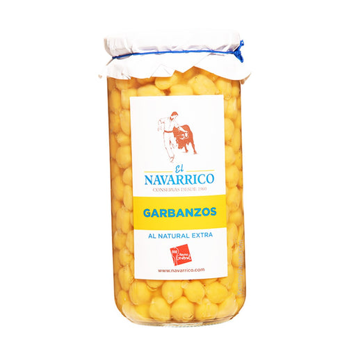 El Navarrico Garbanzo Spanish Chickpeas, 24.7 oz (700 g)