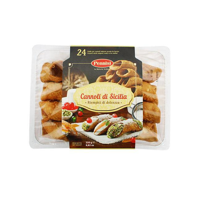 Sicilian Canoli Shells, Small by Pennisi, 8.8 oz (250.0 g)