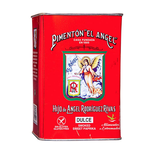 Spanish Smoked Paprika, Sweet, by El Angel 26.4 oz. (750 g)