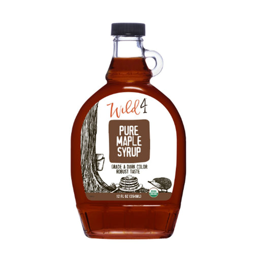Wild4 Grade A Dark Color Robust Taste Maple, 8 fl (237 g)