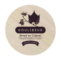 Goulibeur Broye Du Poitou French Large Shortbread with Cognac (Wooden Box), 9.9 oz (280 g)