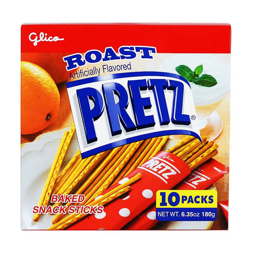 Glico Roasted Pretz Sticks, 6.4 oz (181.4369 g)