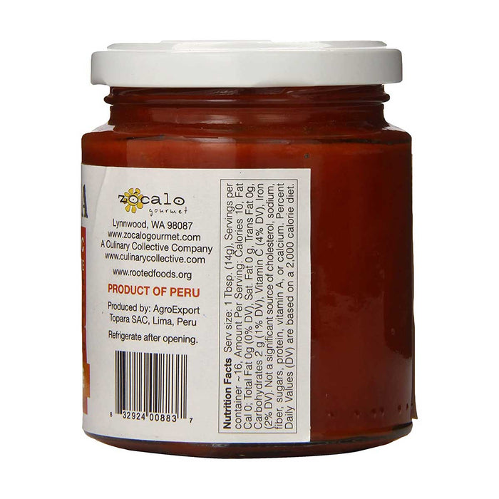Zocalo Aji Limo Organic Chili Paste, 8 oz (225 g)
