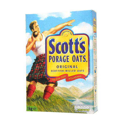 Scotts Porage Oats, 2.2 lb (1 kg)