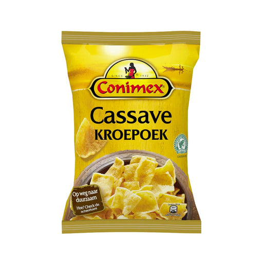 Conimex Kroepoek Cassave Flavor Chips, 2.6 oz (74 g)