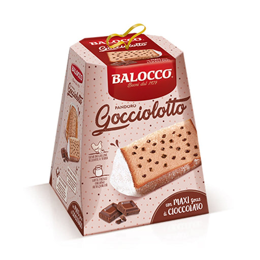 Balocco Pandoro Gocciolotto with Chocolate Drops, 1.8 lb (800 g)