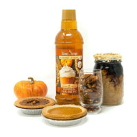 Sugar Free Pumpkin Praline Pie Syrup by Jordan's Skinny Mixes, 25.4 fl oz (750 ml)