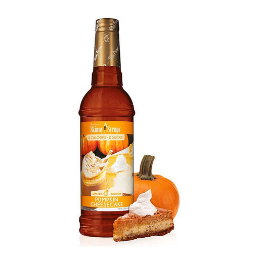 Sugar Free Pumpkin Cheesecake Syrup by Jordan's Skinny Mixes, 25.4 fl oz (750 ml)