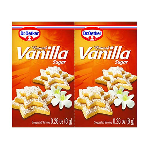 Dr. Oetker Natural Vanilla Sugar, 0.28 oz (8 g)