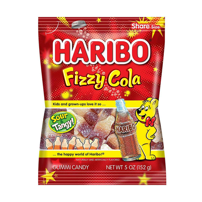Haribo Fizzy Cola Gummy Candy, 5 oz (152 g)