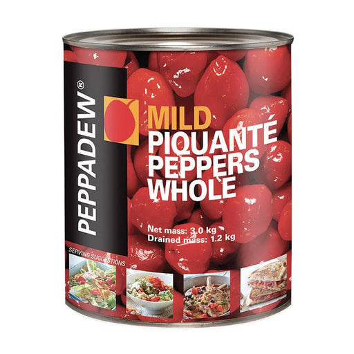 Peppadew Mild Sweet Picante Peppers Bulk, 105 oz (3 kg)