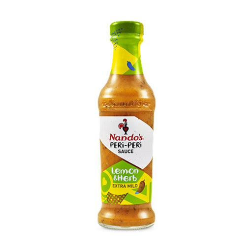 Nando's 9.2 oz Lemon and Herb Peri Peri Sauce, 260g