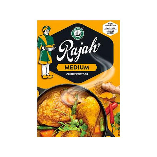 Rajah Medium Curry Powder, 3.5 oz. (100g)