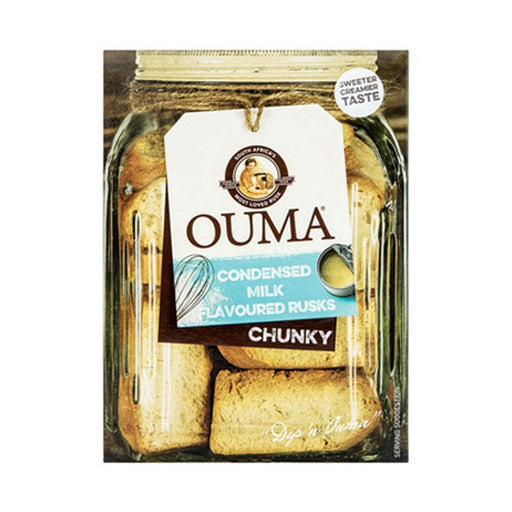 Ouma Rusks Condensed Milk Chunky, 17.6 oz (500g)