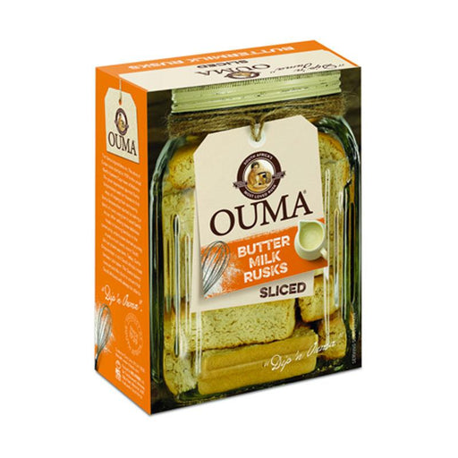 Ouma Sliced Buttermilk Rusks, 17.6 oz. (500g)