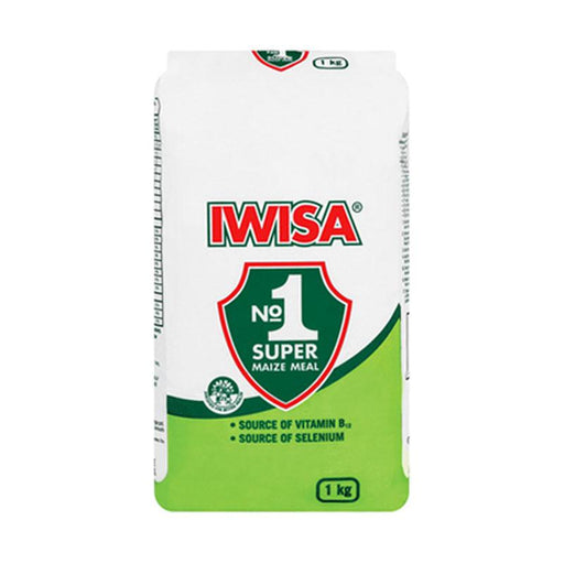 Iwisa Super Maize Meal, 35.3 oz. (1kg)