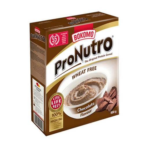 Bokomo Pronutro Wheat Free Chocolate Cereal, 17.6 oz. (500g)