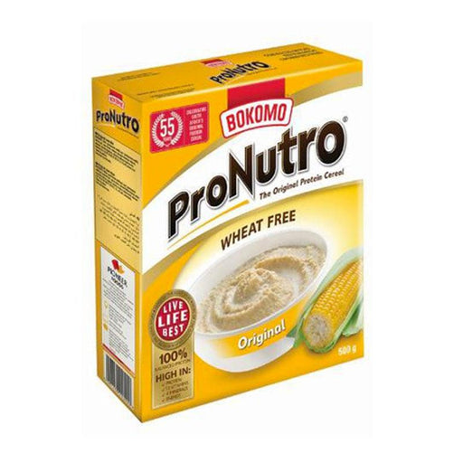 Bokomo Pronutro Original Wheat Free Cereal, 17.6 oz. (500g)