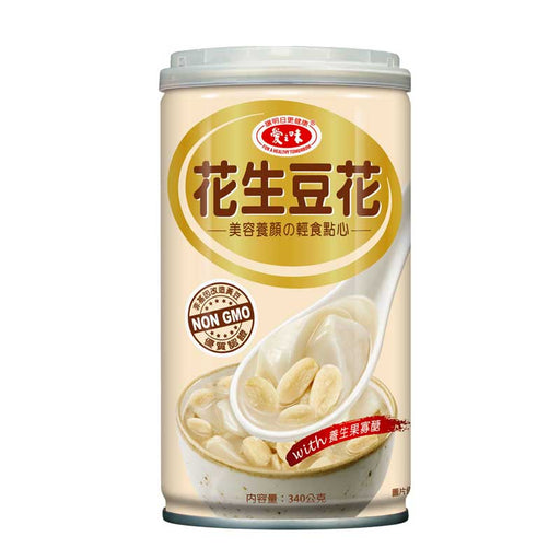 AGV Tofu Pudding with Peanuts, 12 oz (340g)