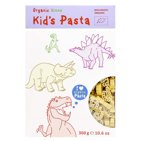 Organic Kids Pasta in Dinosaur Shapes by Alb-Gold 10.6 oz