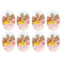 Les Anis de Flavigny Rose Flavored Anise Candy, 8-Pack