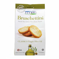 Asturi Bruschettini Toasts with Virgin Olive Oil 4.2 oz. (120g)
