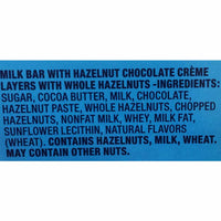 Baci Perugina Milk Chocolate Bar with Hazelnut Chocolate Layers and Whole Hazelnuts 5.2 oz. (150g)