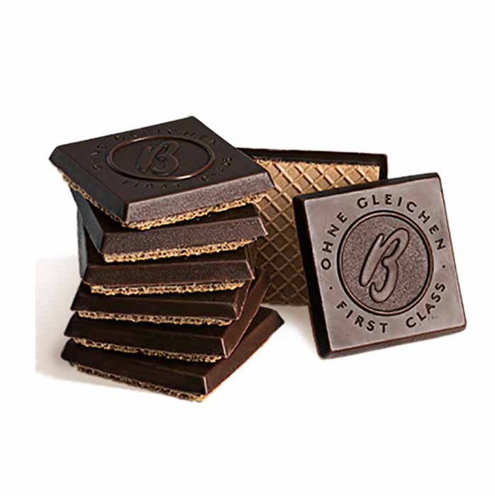 Bahlsen Dark Chocolate First Class Wafers with Hazelnut, 4.4 oz (125 g)