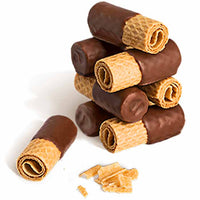 Bahlsen Milk Chocolate Wafer Rolls 3.5 oz. (100g)