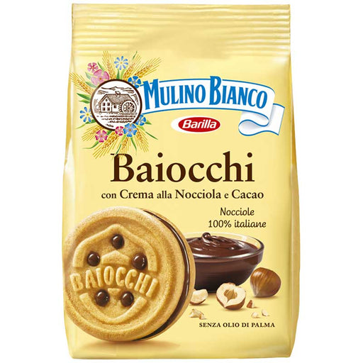 Baiocchi Cookies by Mulino Bianco from Italy 9.1 oz. (257g)