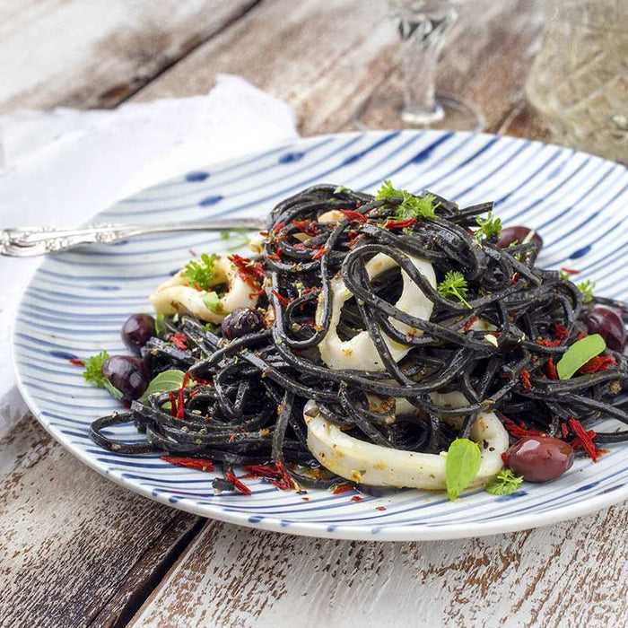 Morelli Linguine with Black Squid Ink, 8.8 oz