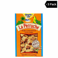 Brown Sugar Cubes by La Perruche 8.8 oz (3-Pack)