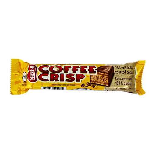 Coffee Crisp Wafer Candy Bar, 1.7 oz (50 g)
