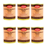 Clement Faugier Candied Chestnut Paste 35.2 oz. (1 kg) (PACK OF 6)