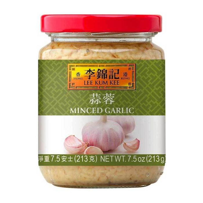 Minced Garlic in Water by Lee Kum Kee, 7.5 oz (213g)