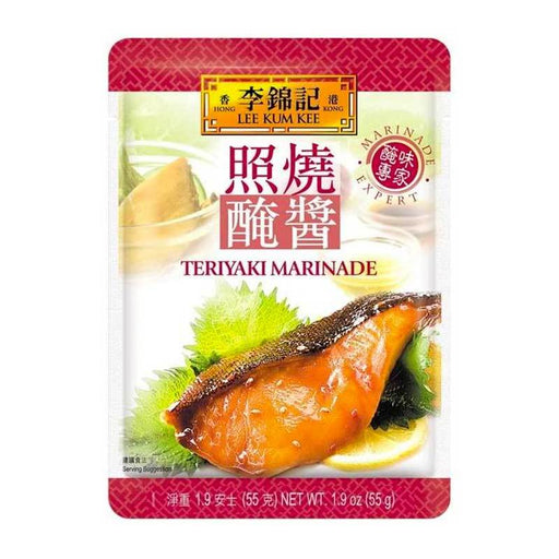 Teriyaki Sauce and Marinade by LKK, 1.9 oz (55g)