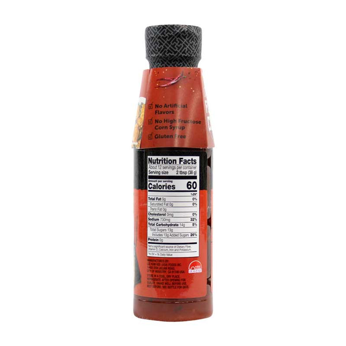 Sweet and Spicy Asian Sauce by LKK, 15.7 oz (445g)