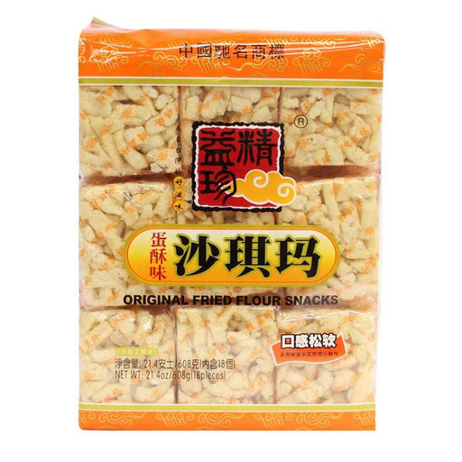 Sachima Saqima Fried Noodle Snacks, Individually Wrapped, 21.4 oz. (608g)