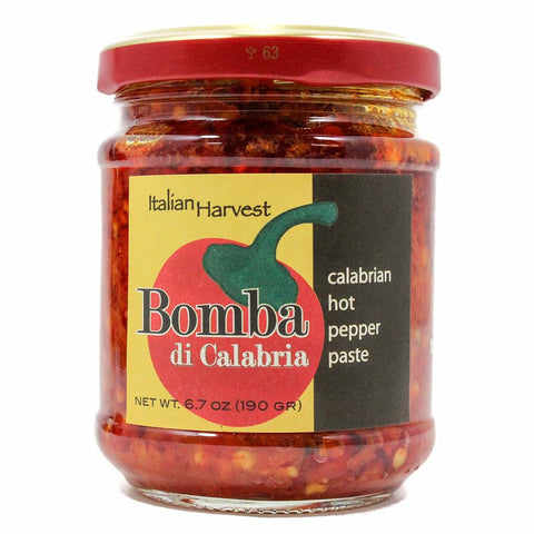 Italian Harvest Bomba di Calabria Calabrian Hot Pepper Chili Paste 6.7 oz