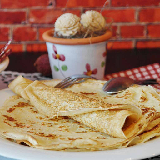 Chestnut Crepes (Serves 2)