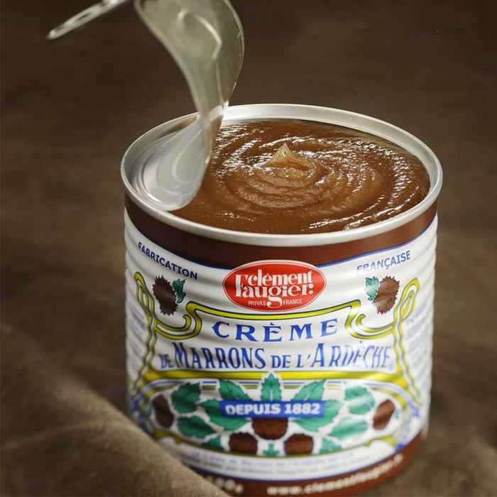 17.5 oz Large Chestnut Spread Vanilla by Clement Faugier from France (500g)