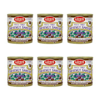 Free Shipping 6-Pack x 17.6 oz Clement Faugier Vanilla Chestnut Spread