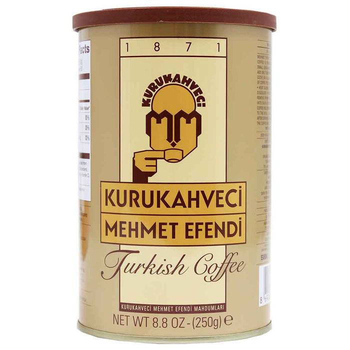 Kurukahveci Mehmet Efendi Turkish Coffee 8.8 oz. (250 g)