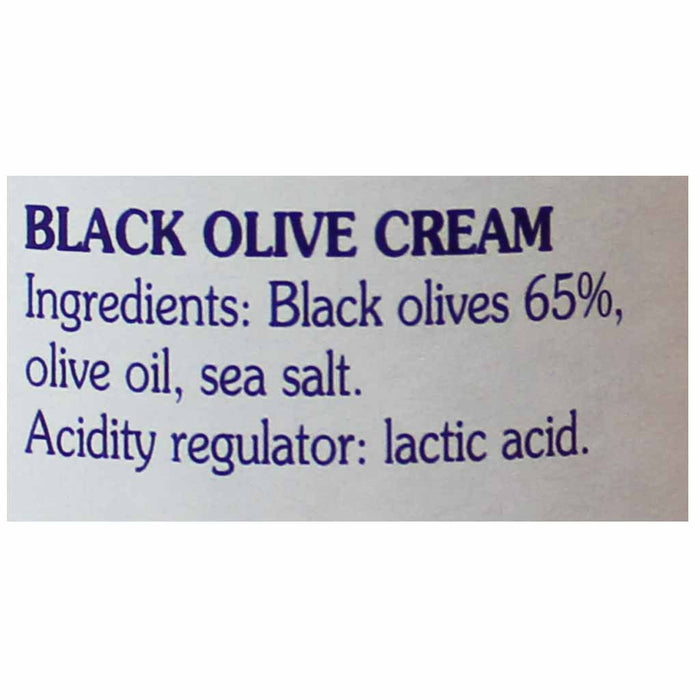 Coluccio Black Olive Cream 6.3 oz. (180g)