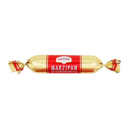 Charlotte Erasmi Chocolate Covered Marzipan Bar, 3.5 oz (100 g)